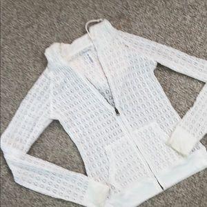 100%cotton coverup jacket
